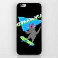 Meowabunga  iPhone & iPod Skin