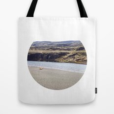 In the middle of nowhere, Iceland Tote Bag