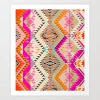 MARKER SOUTHWEST SUN Art Print