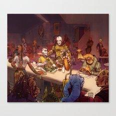 The Mos Emos Cantina Canvas Print
