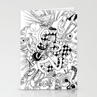 I've seen things (Black & White) Stationery Cards