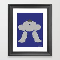 Radiology (Variant) Framed Art Print