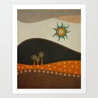 Sweet. Land. Art Print