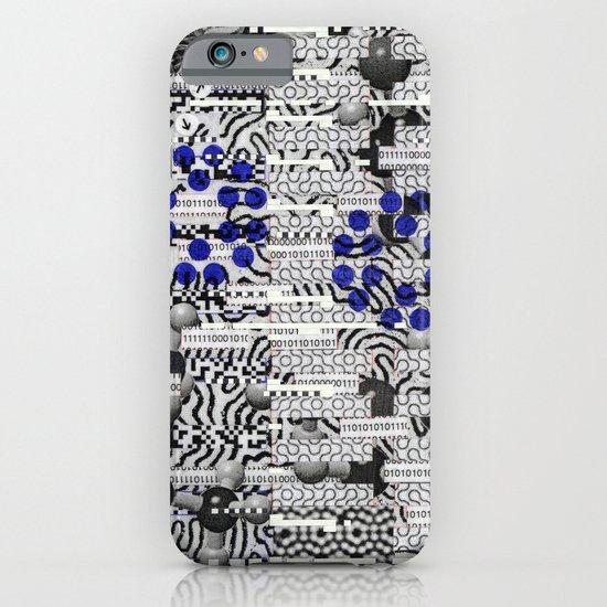 Nagging Little Virtual Elements (P/D3 Glitch Collage Studies) iPhone & iPod Case