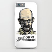 iPhone & iPod Case featuring Mr. White by Lee Grace Illustration