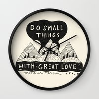 Do Small Things With Gre… Wall Clock