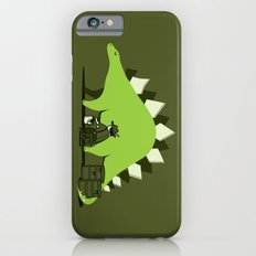 Crude oil comes from dinosaurs iPhone 6 Slim Case