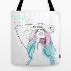Oh yeah, reality bites Tote Bag