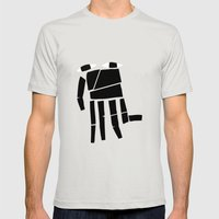 Elephand Mens Fitted Tee Silver SMALL