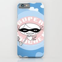 iPhone & iPod Case featuring SUPER GIRL // Super Mädchen by Maedchenwahn