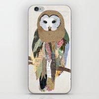 Owl Collage iPhone & iPod Skin