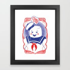 STAY PUFFT Framed Art Print