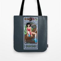 Crysta Nouveau - Fern Gu… Tote Bag