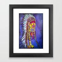 Chief Framed Art Print