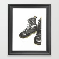 Doc Mart Framed Art Print