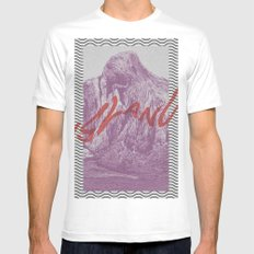 The Island SMALL White Mens Fitted Tee