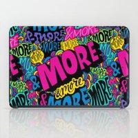 More & More & More iPad Case