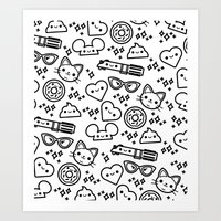 Cute Stuff Art Print