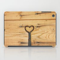 Love Is All Around Us iPad Case