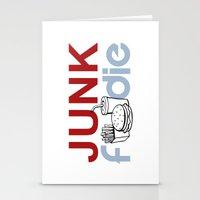 I HEART Junk Food Stationery Cards