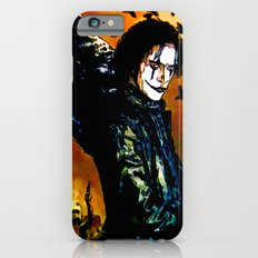 The Crow - Colored Sketch iPhone 6 Slim Case