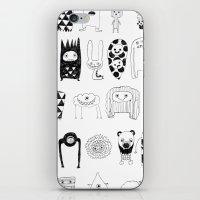 Creatures iPhone & iPod Skin
