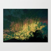 Rain In The Bow Day Canvas Print
