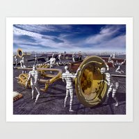 Songs Waiting To Be Played Art Print