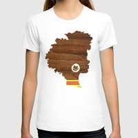 Sunny Womens Fitted Tee White SMALL
