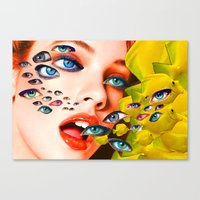 What You Looking At? (co… Canvas Print