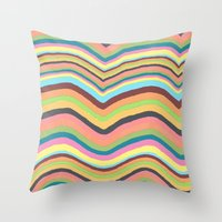 Joyful Burst Throw Pillow