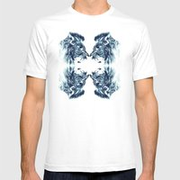 FEARFRONT Mens Fitted Tee White SMALL