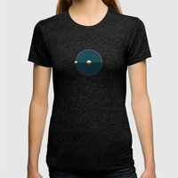 Hydrogen Womens Fitted Tee Tri-Black SMALL
