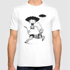 The Chase Mens Fitted Tee White SMALL