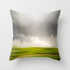 Stormy May Day Throw Pillow