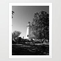 Lighthouse... Art Print