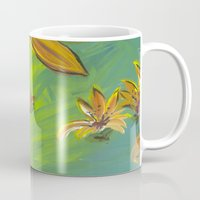 Tropical Flowers Mug