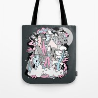 Head In The Clouds. Tote Bag