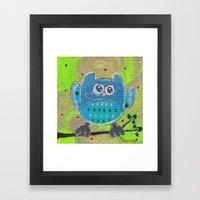One for the owl Framed Art Print