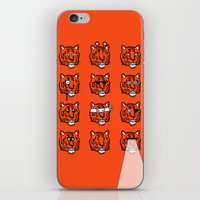 Eyes Of The Tiger iPhone & iPod Skin