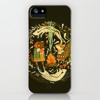 iPhone 5s & iPhone 5 Cases featuring Animal Chants & Forest Whispers by Teagan White