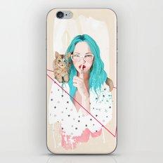 Shhh... iPhone & iPod Skin