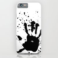 iPhone & iPod Case featuring LEAVE YOUR MARK by DeMoose_Art