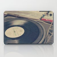 Vintage Turntable And Re… iPad Case