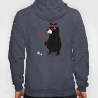 Badminton Bear Hoody
