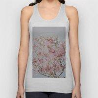 Pink Magnolias Unisex Tank Top