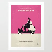 No205 My Roman Holiday M… Art Print