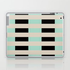 Tan Black Mint Checkerboard Laptop & iPad Skin