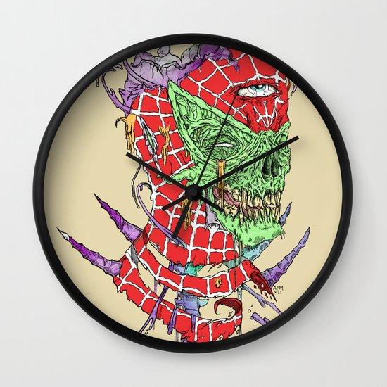 Zombie Sense Wall Clock