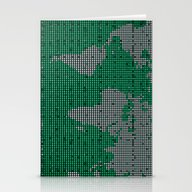 Green Map Stationery Cards